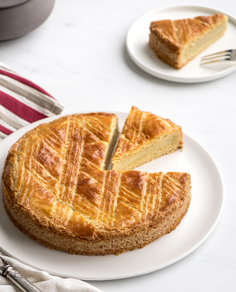 gateau basque vanille madagascar norohy empreinte sucree