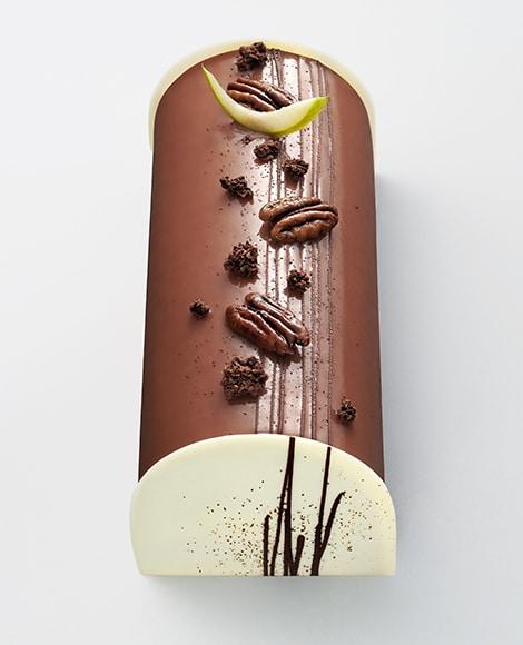 buche noel chocolat vanille norohy